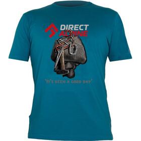 Directalpine Flash T-Shirt Men It's Been A Good Day petrol